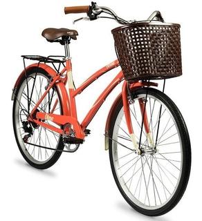 Bicicleta Vintage Olmo Amelie Plume Rapide Aluminio 6 V.