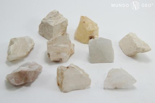 Piedra Calcita Blanca En Bruto