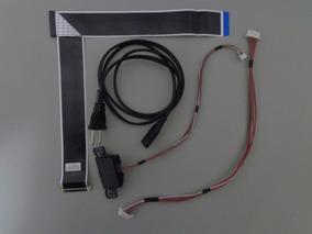 Kit Cabo Flat / Lvds / Força - Tv Tc-32a400b Panasonic