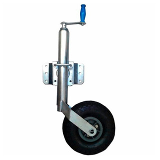 Rueda Timonera Inflable Regulable Para Trailer Local Palermo
