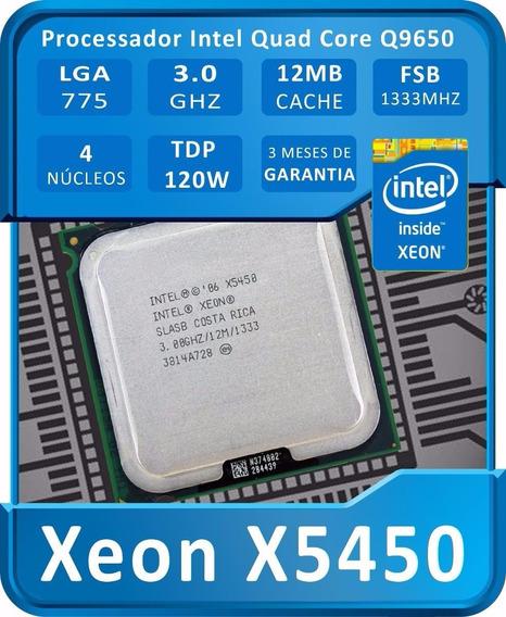 Intel Xeon X5450 3.0 Ghz/12 M/1333 Mhz = Core 2 Quad Qx9770