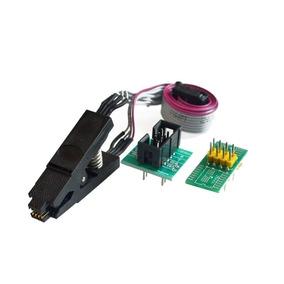 Clip Para Gravador De Eeprom Soic8 Sop8 + 2 Adaptadores