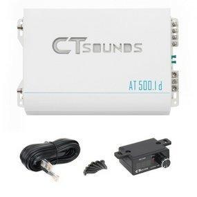Amplificador Para Carro Ct Sounds At-500.1 Clase D