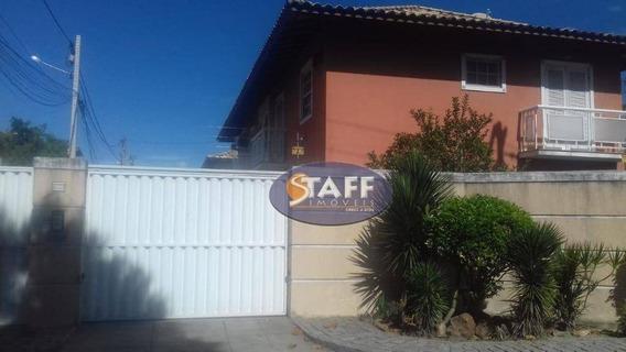 Casa Com 02 Dormitórios Para Locação Fixa, 88 M² Por R$ 1.200,00/mês - Bairro Praia Do Siqueira - Cabo Frio-rj - Ca1233