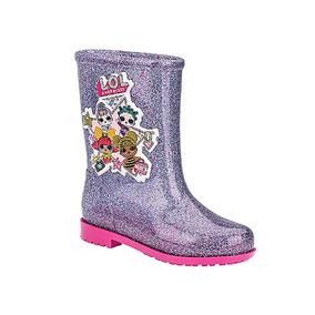 Galocha Boneca Lol Colors Glitter Grendene Infantil 009993