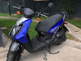 Yamaha, Bwis 125, Azul, Año 2013.