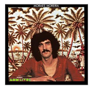 Lp Moraes Moreira 1975 Vinil 180g 1º Disco Lacrado Fret Grát