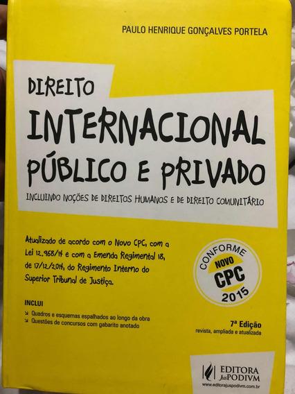 Livro Direito Internacional Público E Privado 2015 Portela