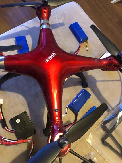 Novo Drone X8hg + 5 Baterias + Camera 8mp