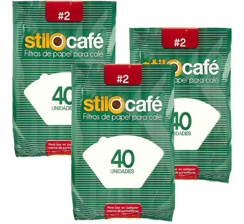 Filtros De Papel Para Cafetera No. 2 Para 8-10 Tazas - 120 U