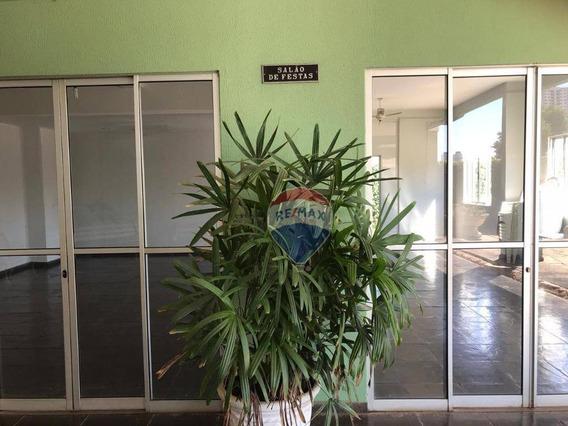 Apartamento Semi-mobiliado No Edifício São Benedito (bairro Jardim Tropical - Cuiabá/mt) Para Alugar - Ap0997