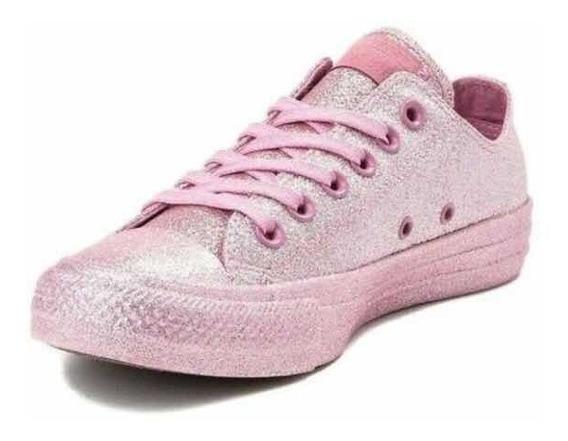 Converse Chuck Taylor All Star Glitter Pink