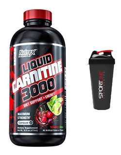 L-carnitina Liquida 3000mg 480 Ml + Brinde - Nutrex