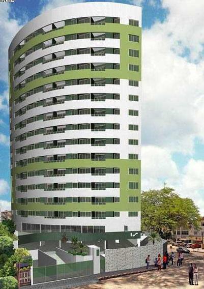 Apartamento Com 2 Quartos Para Alugar, 49 M² Por R$ 1.000/mês - Boa Viagem - Recife/pe - Ap0957