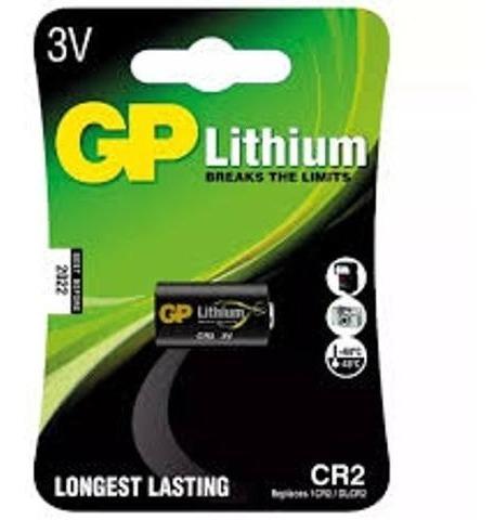 Bateria Gp Cr2 Lithium 3v - 4 Unidades