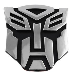 Calcomania Sticker Transformers De Aluminio Para Carro Motos