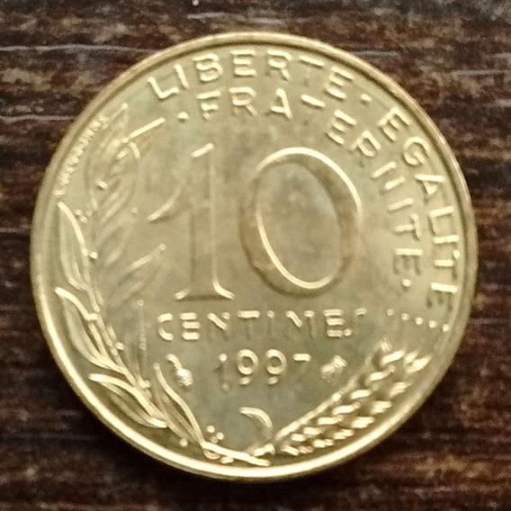 Moneda 10 Céntimos Francia 1997 Sin Circular