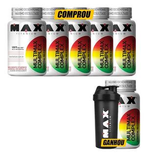 Multimax Complex (compre 5 Leve 6) + Brinde - Max Titanium