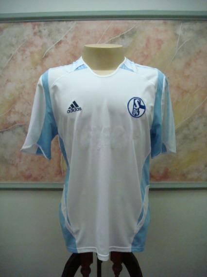 Camisa Futebol Schalke 04 Alemanha adidas Jogo Antiga 2525