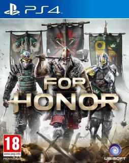 For Honor, Ps4 Físico, Nuevo Sellado Crash Video Games