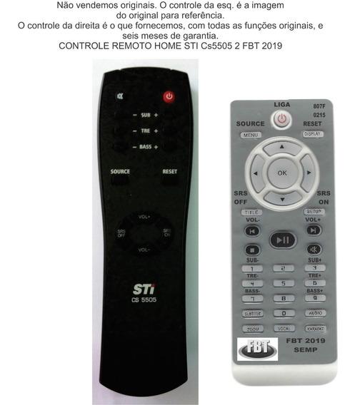 Controle Compatível Semp Sound Bar Home Ht Cs5505 288f2019
