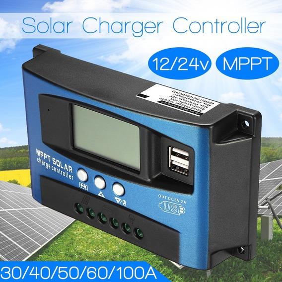 Controlador De Carga Solar Mppt 30amp.pronta Entrega