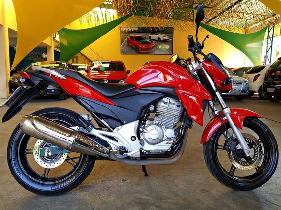 Cb 300 Vermelha 2014 - Cb 300 2014 - Honda Cb 300 Baixa Km