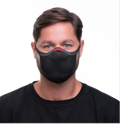 Máscara De Proteção Fiber Knit 3d Com 1 Refil - G