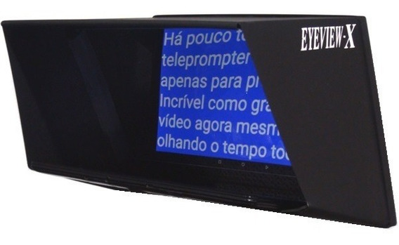 Eyeview-x Teleprompter Para Youtubers E Profissionais