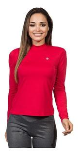 Camisa Gola Alta Feminina Com Proteção Solar Extreme Uv Ice