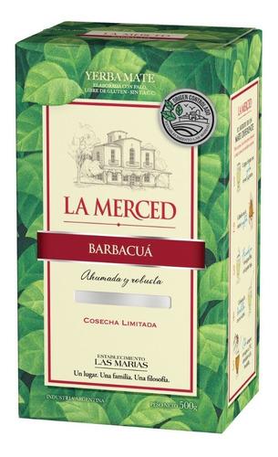 Yerba Mate La Merced Barbacua Oc 1/2 Kg.