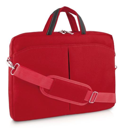 Bolsa Feminina Para Notebook Até 15,6 Bo171 Vermelha Mult