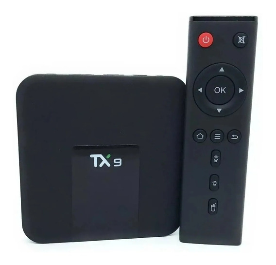 Streaming Player Box Tanix Tx9 Padrão 16gb/2gb Original