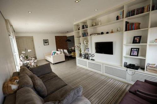 Imagem 1 de 30 de Apartamento Com 3 Dormitórios À Venda, 139 M² Por R$ 725.000,00 - Centro - Santo André/sp - Ap3478