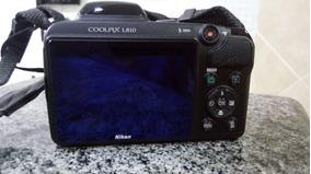 Camera Fotográfica E Filmadora Nikon Modelo L-810