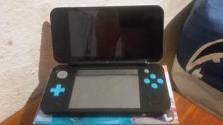 New Nintendo 2ds Xl Juego Mariokart7 + Tres Juegos