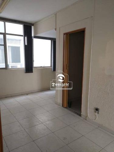 Sala À Venda, 67 M² Por R$ 220.000,00 - Centro - Santo André/sp - Sa0969