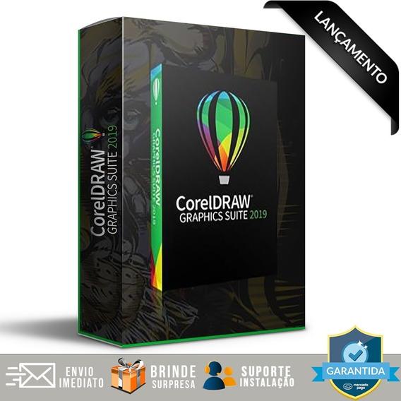 Corel Draw 2019 03 Ativaçoes + Suporte Instalação