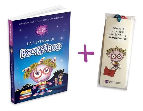 La Leyenda De Bookstruo, Libro Infantil + 6 Separadores