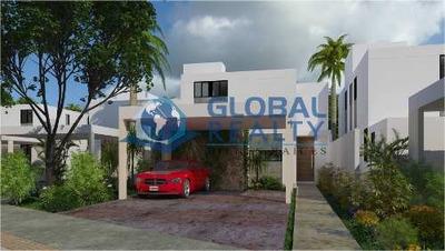 Casa En Venta, Privada, Conkal, Zona Plaza La Isla. Cv-5443