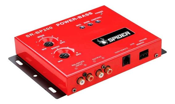 Epicentro Restaurador D Bajo 2 Perillas Spider Audio Srbp200