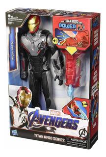 Muñeco Iron Man Power Fx Marvel Avengers Series 30 Cm