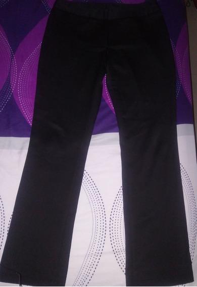 Pantalón De Vestir Para Damas Negro Marca Benetton Talla 44