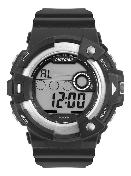 Relógio Masculino Mormaii Action Prata - Original