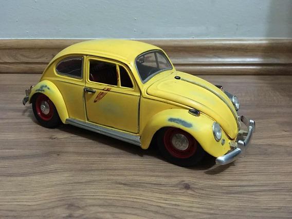 Miniatura Volkswagen Fusca Antigo Customizado