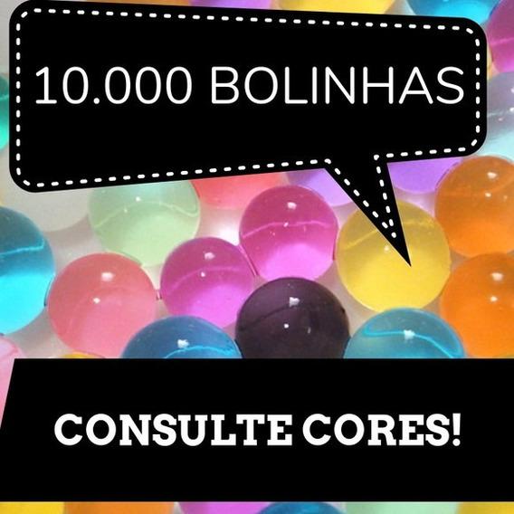Gel Bolinha Colorido Decora Orbeez Planta Festa Agua 10000