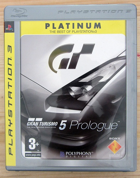 Assassinis Creed Brotherhood + Gran Turismo Ps3 Mídia