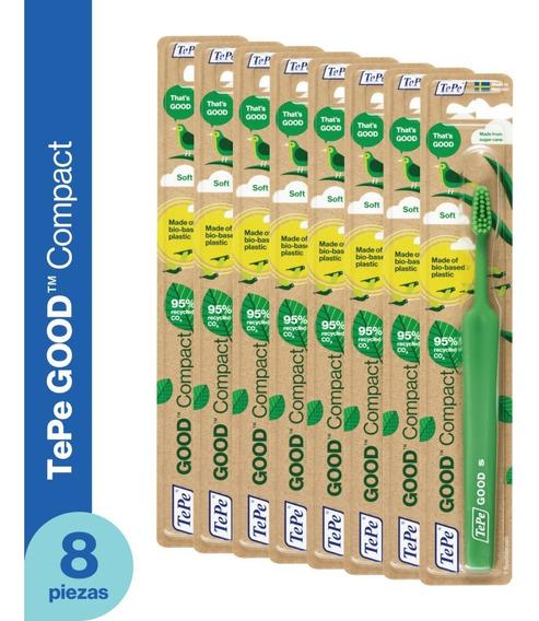 Cepillo Dental Ecológico Tepe Good - Infantil Soft 8 Piezas