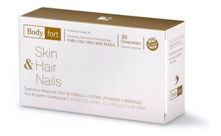 Body Fort Skin Hair Nails Natufarma Sup Dietario X 30 Comp