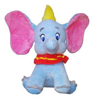 Peluche Elefante Dumbo - Tamaño Grande - Celeste
